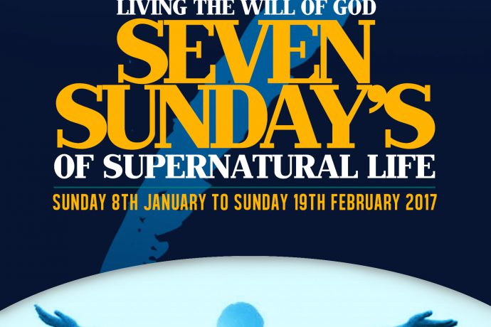 Seven Sundays Of Supernatural Life - Week 1