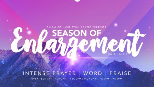 Season Of Enlargement - Week 5