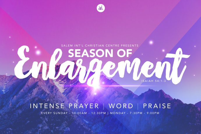Season Of Enlargement - Week 3